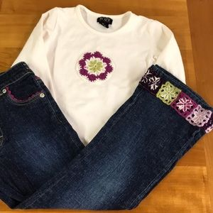 The Children's Place jeans and top 5/6